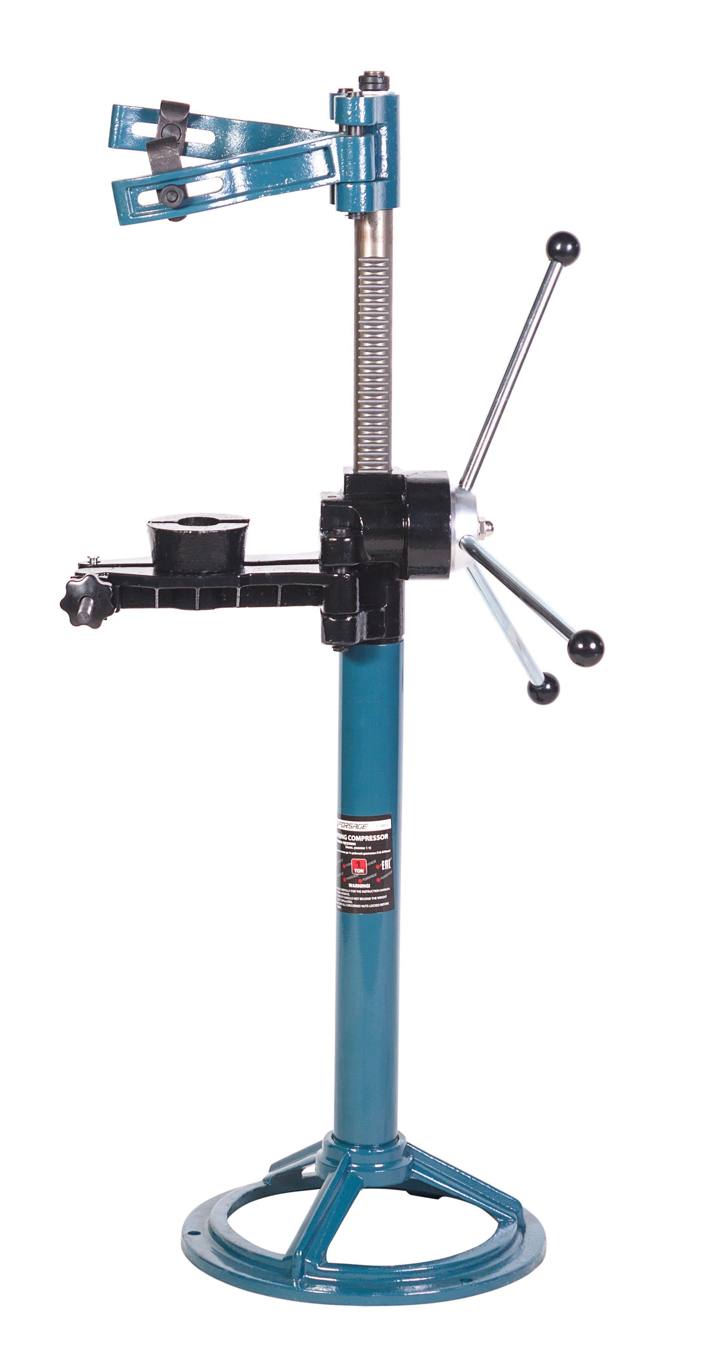 Стяжка пружин механическая напольная (макс  усилие 1т